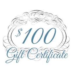 Gift Certificate – $100.00