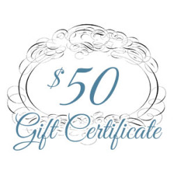Gift Certificate – $50.00