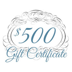 Gift Certificate – $500.00